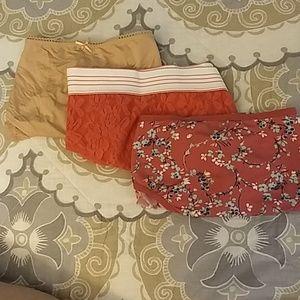 3 prs NWT Cacique Panties sz 22/24